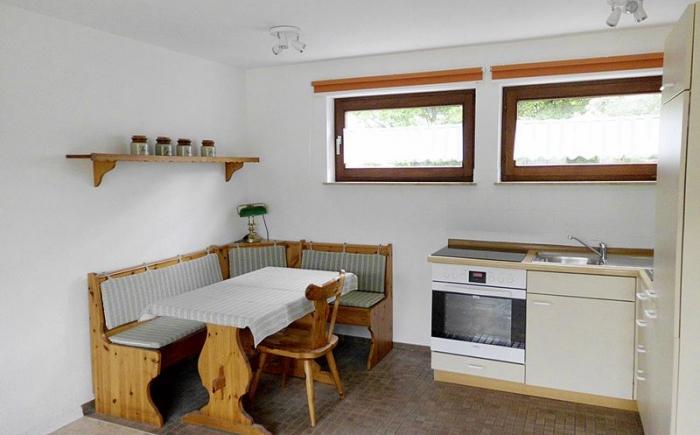 Küche mit Seitzecke
